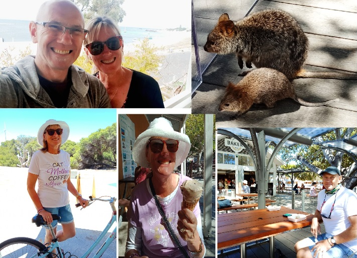 Time away on Rottnest Island 2020 - quokkas, icecream, bakery goods and relaxation.