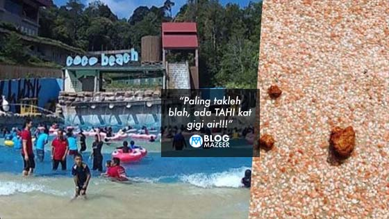 Gambang Waterpark Kotor! Bernajis!