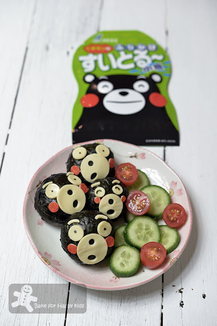 kumamon rice balls