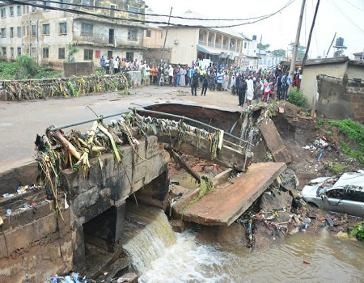 Four feared dead in Ilorin bridge collapse