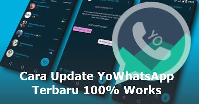 cara update yowhatsapp terbaru