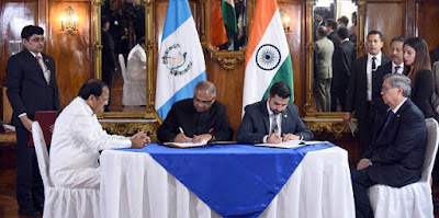 India and Guatemala sign MoU to cooperate in diplomatic training