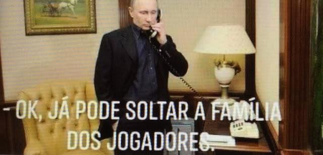 O humor popular pegou o fundo político estilo URSS da Copa na Rússia