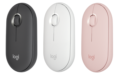 Pilihan warna Logitech Pebble M350