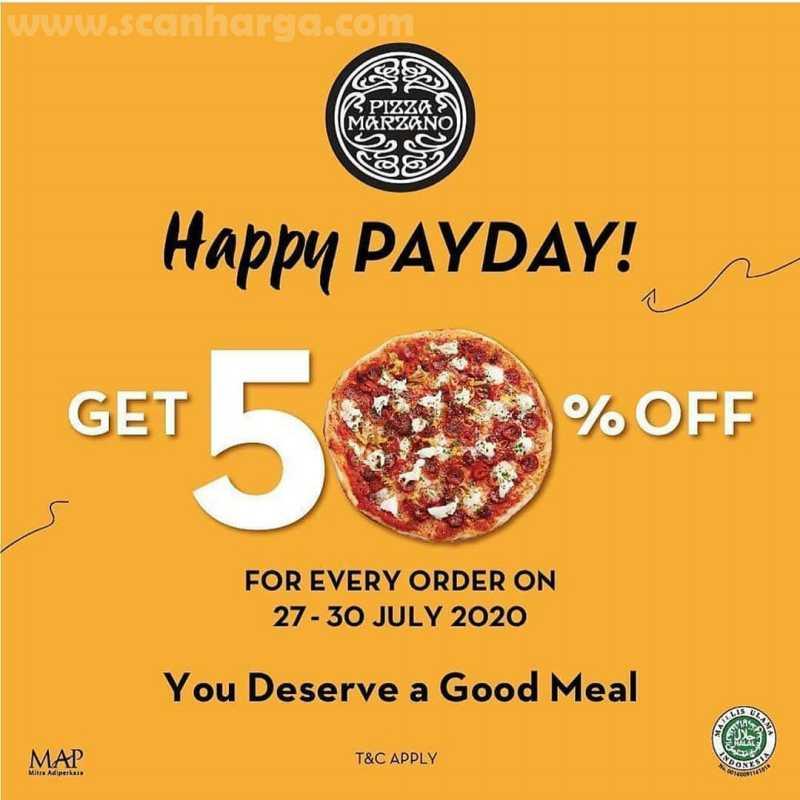 Promo Marzano Pizza 27 - 30 Juli 2020