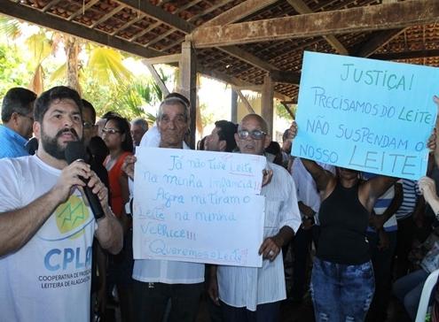Estado de Alagoas, vai liberar R$ 20 milhões para manutenção do Programa do Leite