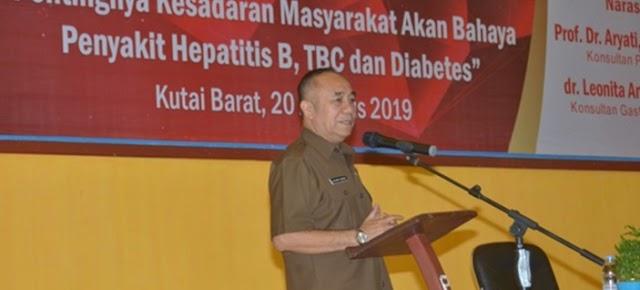 Buka Seminar Kesehatan, Wabup Edyanto: Membangun Kesadaran akan Kesehatan Jadi Tanggung Jawab Bersama