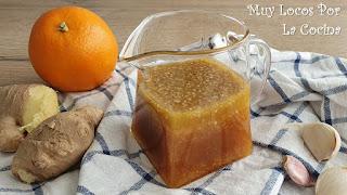 Vinagreta de Miel, Limón y Queso Feta