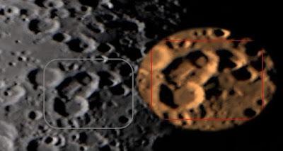 Kuu tukikohta rakennelma