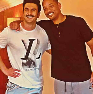 Ranveer Singh With Will Smith