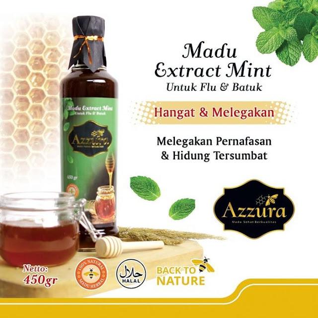 Madu Azzura Extract Mint 450 gr