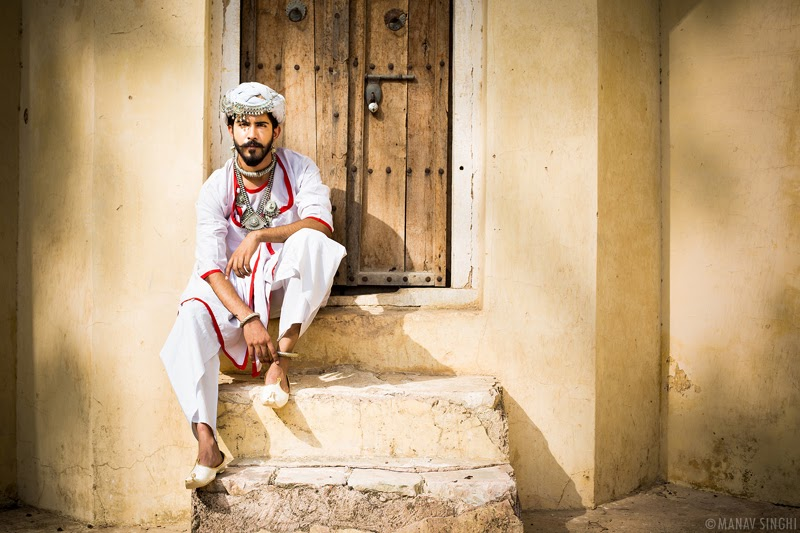 Akshay Rathore for Campaign Shoot of Rajasthan Style Fest