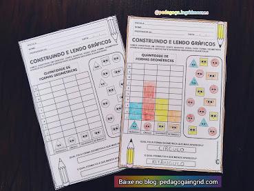 ATIVIDADE PARA MATEMÁTICA: CONSTRUINDO E LENDO GRÁFICOS
