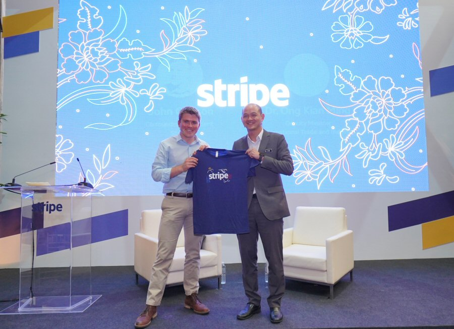 Stripe launch ceremony in Malaysia
