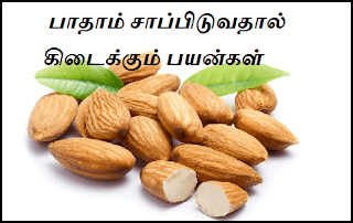 badam benefits in tamil