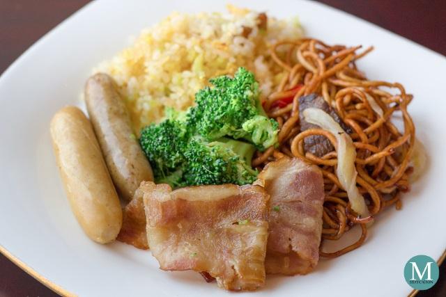 Horizon Club Lounge Breakfast at Shangri-La Hotel Wuhan