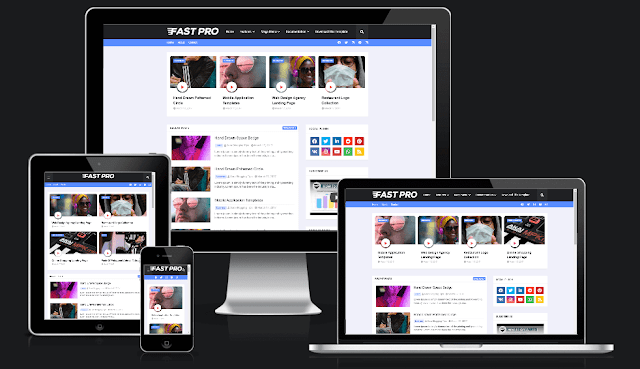 FastPro Blogger Template । Free Blogger Template Download