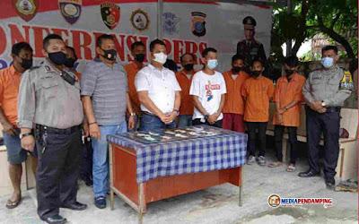 Merespon Instruksi Kapolri, Jajaran Polsek Medan Area Dengan Cepat Membekuk 10 Orang Pelaku Pungli