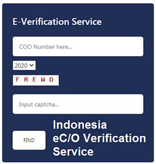 Tra cứu mẫu con dấu và chữ ký điện tử của CO Form D Indonesia
