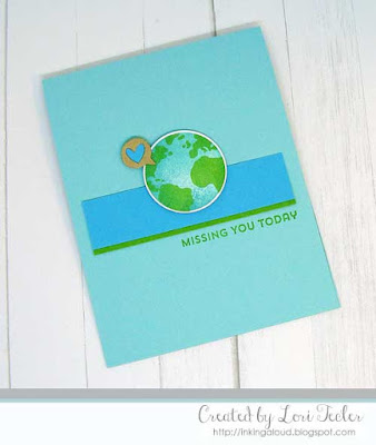 Missing You Today card-designed by Lori Tecler/Inking Aloud-stamps and dies from My Favorite Things