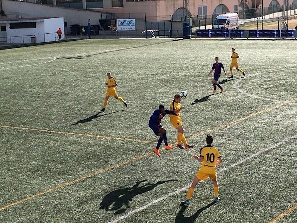 El Málaga cae en cuartos del MIC ante el Barça (1-0)