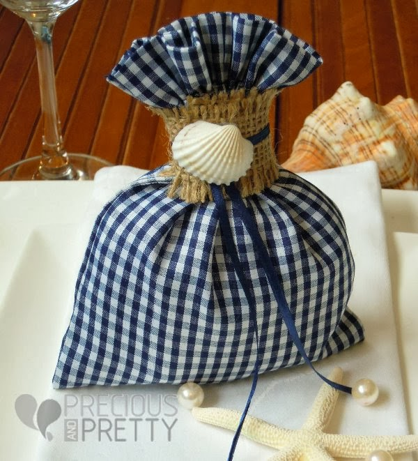 Greek beach favors with shells B040