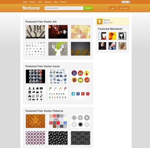 أفضل 10 مواقع لتحميل الفكتور مجانا موقع Vecteezy - مدونة Blog4Prog