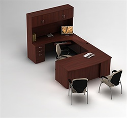 Zira Executive Desk by Global
