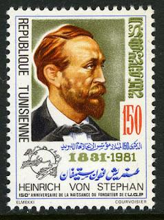 Tunisia Heinrich von Stephan