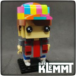 BrickHeadz MOC Marty McFly - DAS KLEMMT