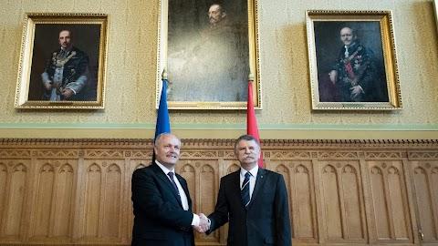 Kövér: Észtország fontos, baráti szövetségese Magyarországnak