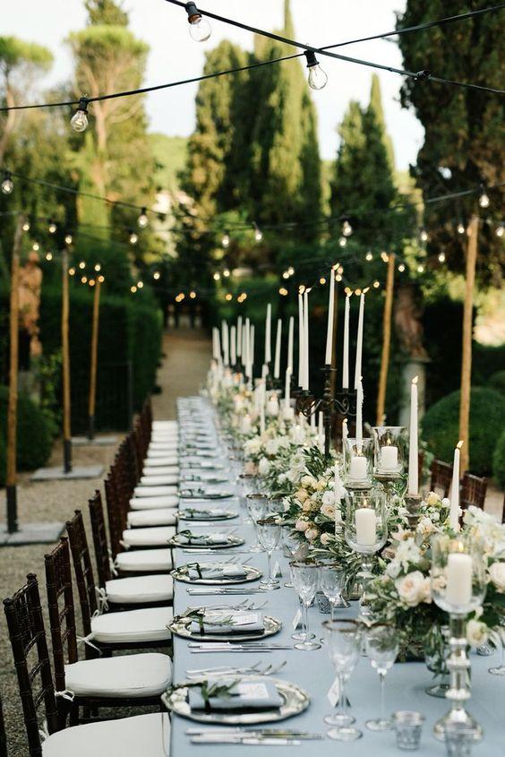 Alfresco Tuscan soiree Wedding Planner