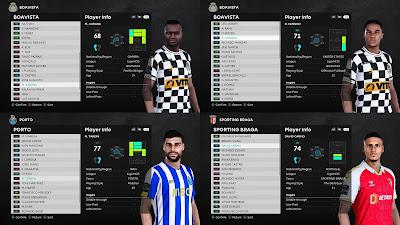 PES 2021 Facepack Liga NOS