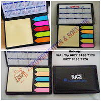 Catatan post-it promosi, Souvenir Sticky notes 302, Sticky notes custom, Catatan Post-it Termurah