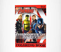 Alfamind Buku Gambar Marvel Avengers Age Of Ultron The Power Of Unity ANDHIMIND