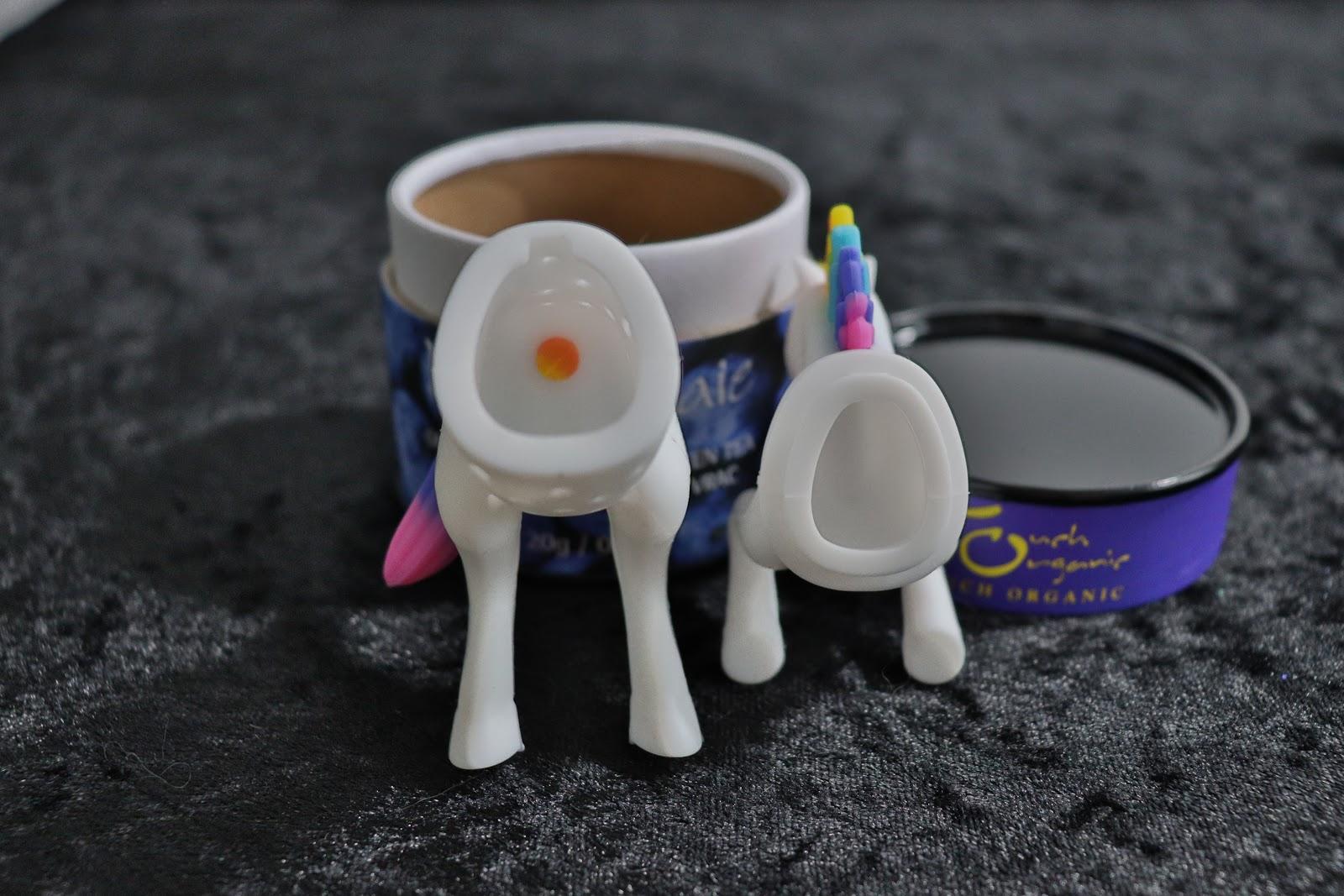 inside of unicorn tea infuser