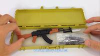 4D plastic 1:6 model toy gun