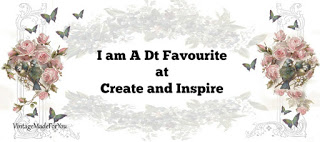 4 x Create And Inspire DT Favourite