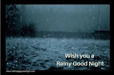 Rainy goodnight