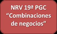 NRV 19ª Combinaciones de negocios