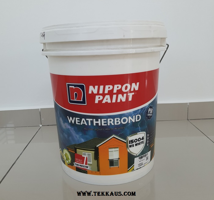 Nippon Paint Weatherbond For Exterior