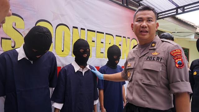 3 Penipu Asal Way Kanan Lampung Ditangkap Polisi