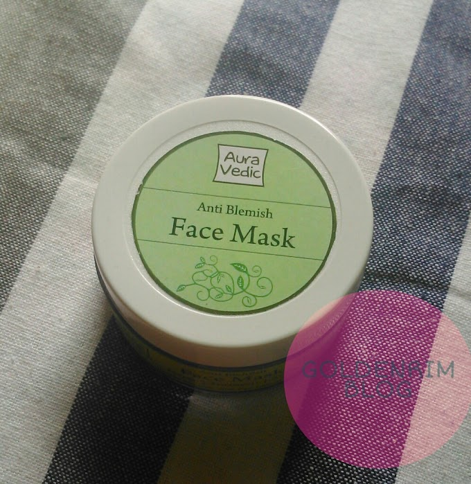 Auravedic Anti Blemish Face Mask with Neem Turmeric Amla Review