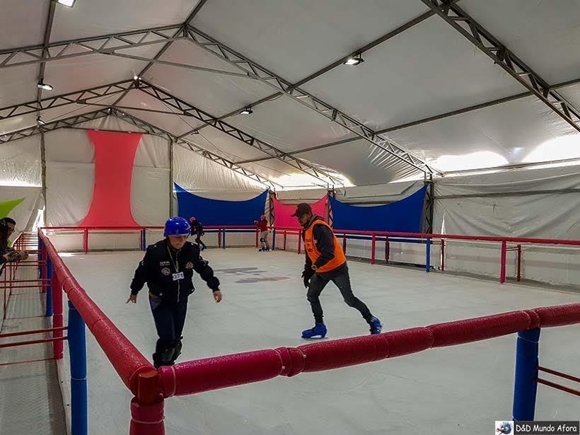 O que fazer em Campos do Jordão - patinação no gelo 2018