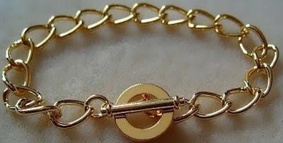 bracelet gold plated