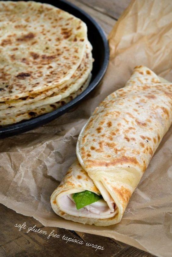 Grain Free Soft Tapioca Wraps