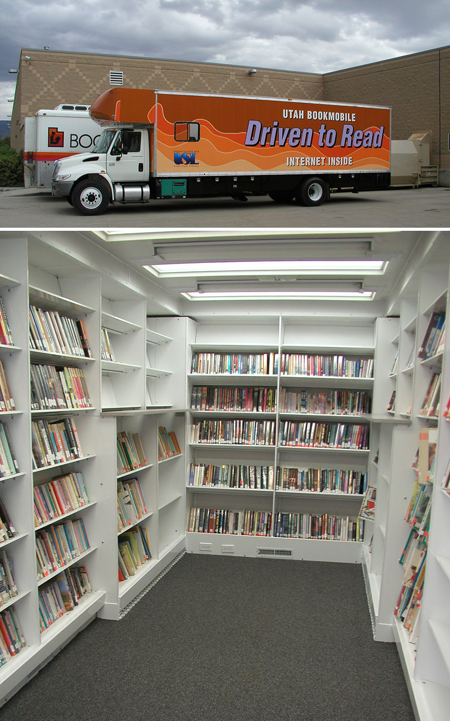 Before Amazon, We Had Bookmobiles 15+ Rare Photos Of Libraries-On-Wheels - Sanpete County Bookmobile