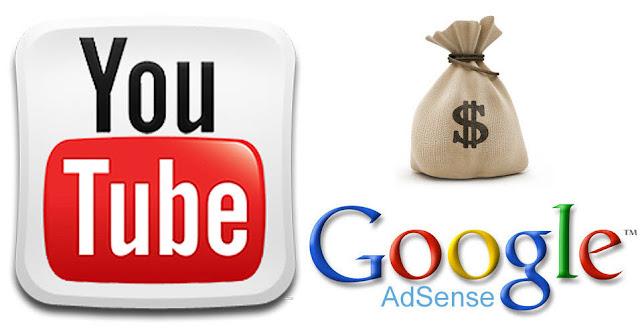 Cara Dapat Uang dengan Bermain Adsense di Youtube