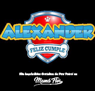 Logo de Paw Patrol: Alexánder