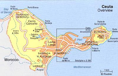 Ceuta e Melilla | Territórios da Espanha